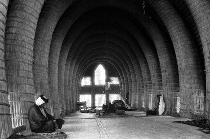 Interior of a mudhif
