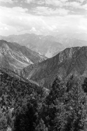Mountains, seen from the Gapa Pass