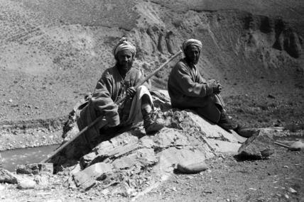 Tajik shepherds in the Panjshir valley