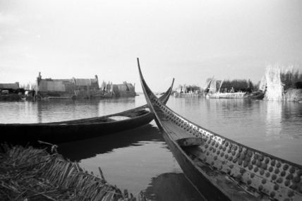 Canoes at Qabab