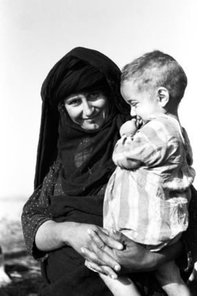 Feraigat woman and child