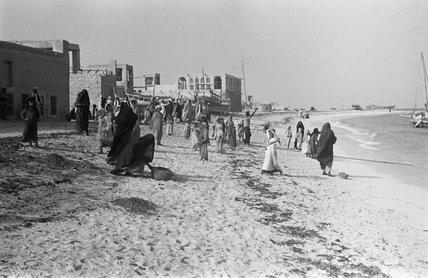 Sea-front at Abu Dhabi