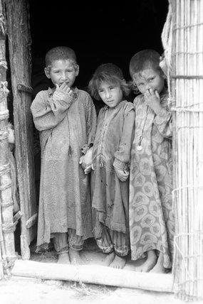 Turkmen children