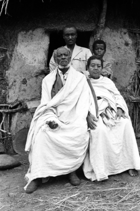 Fitaurari Mangasha and his family