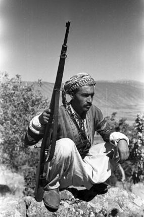 Kurdish man with a rifle