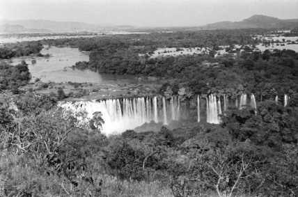 Tisisat Falls on the Blue Nile River