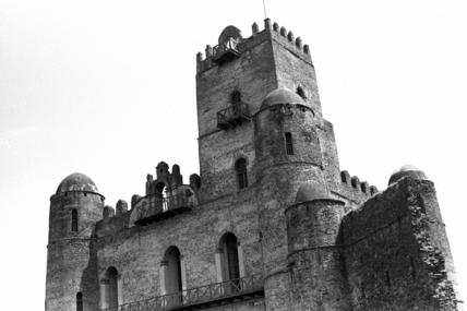 Castle of Fasilidas at Gondar