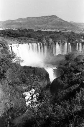 Tisisat Falls on the Blue Nile River