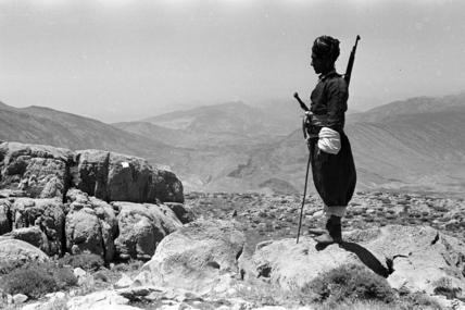 Kurdish man on Mount Hendren