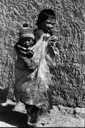 Hazara boy and child