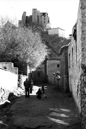 Leh street scene