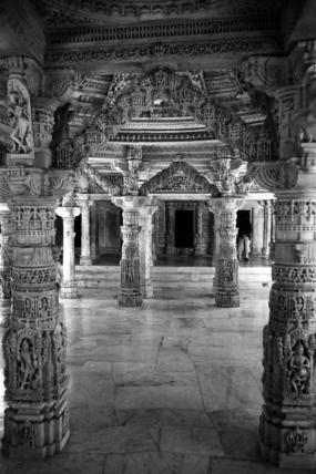 Vimal Vasahi Jain temple at Mount Abu