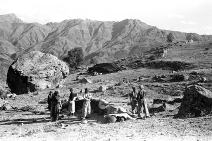Herki encampment