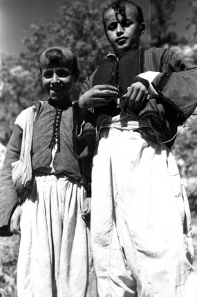 Yazidi boys