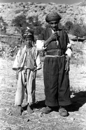 Barzan man and boy