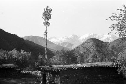 View of Qandil mountain range