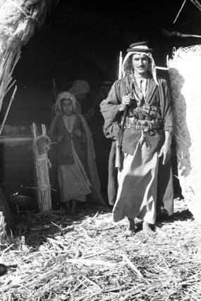 Amaira man with a rifle