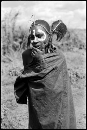 Maasai youth after circumcision
