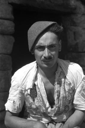 Assyrian man wearing a hat