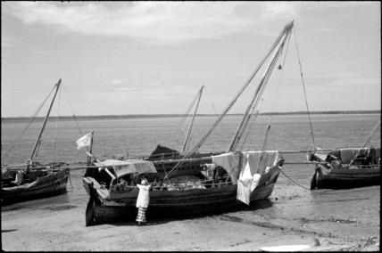 Boats on Lamu