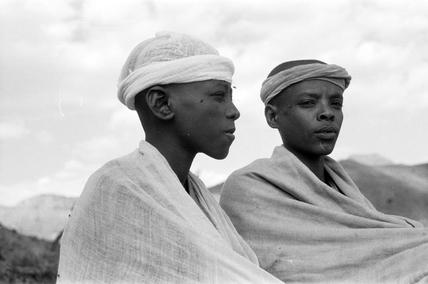 Amhara boys