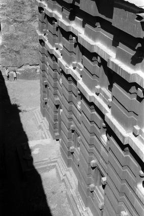 Rock-hewn church of Emanuel at Lalibela