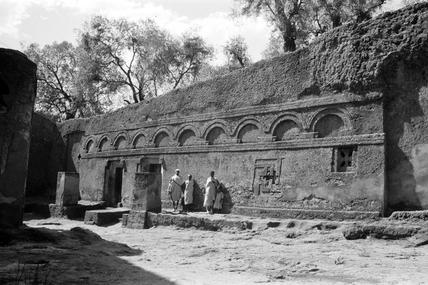 Rock-hewn church of Maskal at Lalibela
