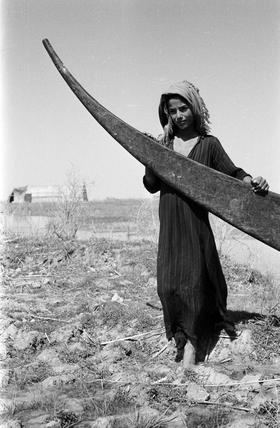 Suaid boy with a tarada