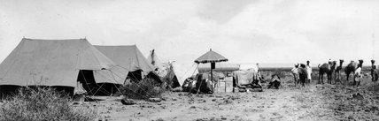 Thesiger's camp at Awash Station