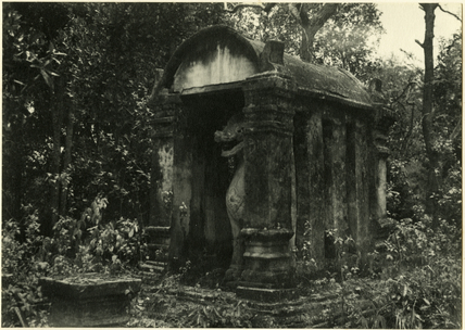 Temple in the forest