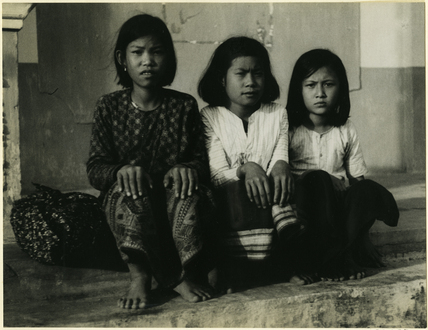 Children at Xiangkhoang