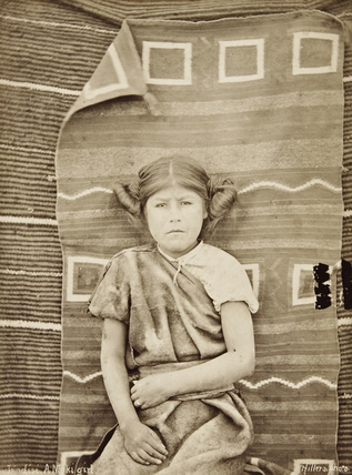 Hopi girl ('Modisi')