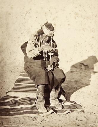 Pedro Jose Quivera using a pump-drill