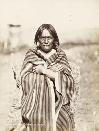 Governor of Tesuque pueblo