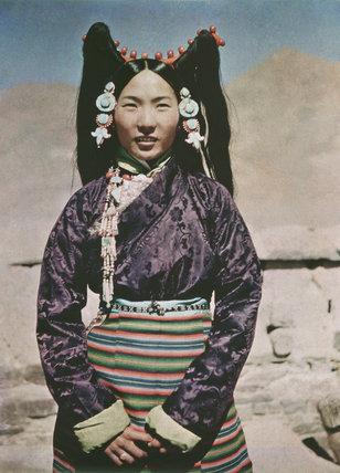 Wife of Tendong Dzongpon