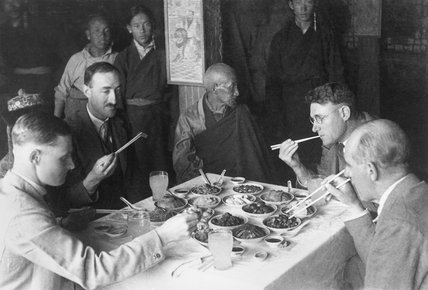 Lunch hosted by Chikyap Khenpo