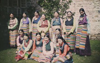 Aristocratic Tibetan women