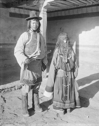 Horpa man and woman