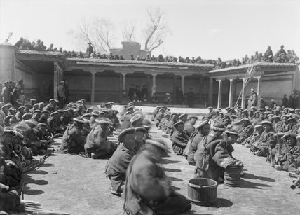 Soldiers at the 'Sky Archery' competition, Namda