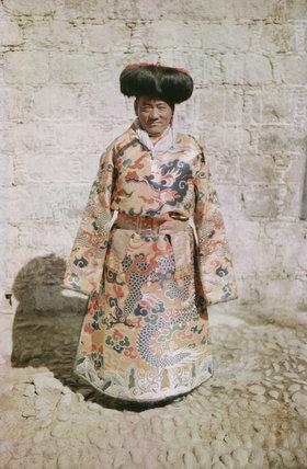 Tsarong in ceremonial dress at New Year