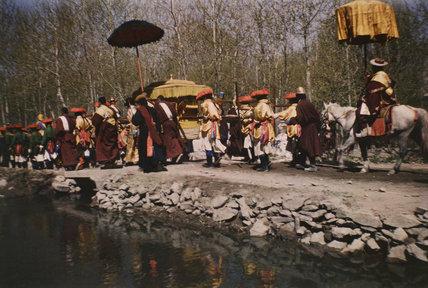 Dalai Lama's palanquin