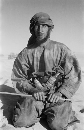 Wilfred Thesiger in Abu Dhabi