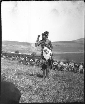 Male elder at a Zulu wedding ceremony