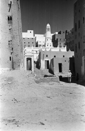 Buildings at Shibam including a ...