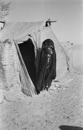 View of a Bedouin woman ...