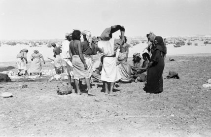 View of Bedouin at Bir ...