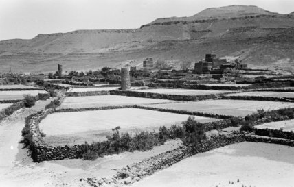 View of Al 'Abis village ...