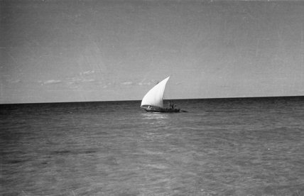 View of a small dhow ...
