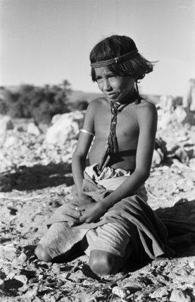 Portrait of a young boy ...
