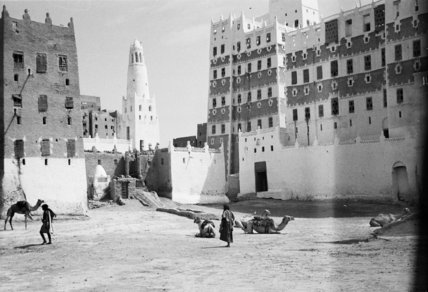 View of the Sultan's Palace ...
